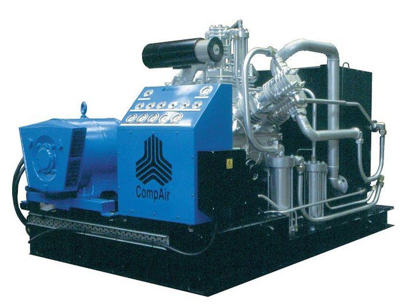 Поршневой компрессор высокого давления